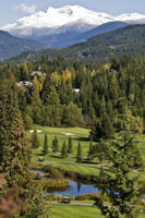 golfing in whistler - a favourite summertime activity