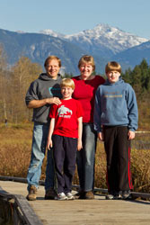 The Rohdes - Your hosts at the Cedar Springs B B, Whistler BC